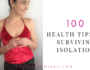 health tips to survive isolation